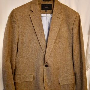Banana Republic Men's cotton herringbone BLAZER